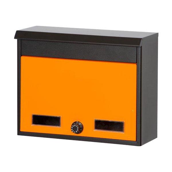 ケイ・ジー・ワイ工業 スタイルポスト SG-2L 幅375×奥行150×高さ300mm オレンジ (直送品)