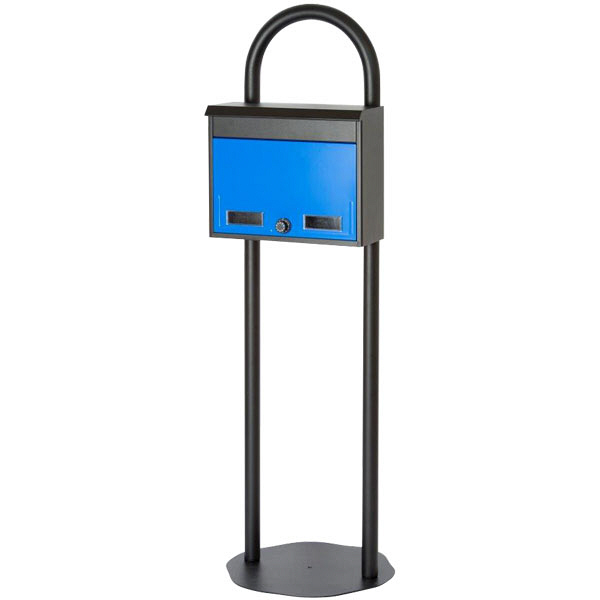 ケイ・ジー・ワイ工業 マイスタンドセット Z2L 幅430×奥行430×高さ1313mm ブルー (直送品)