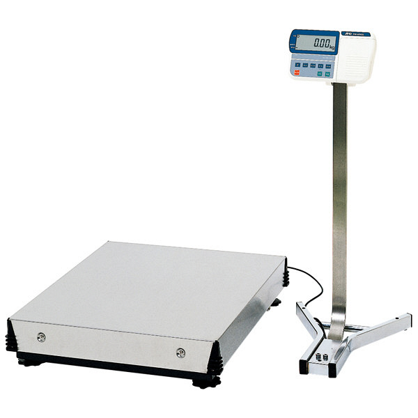 エー・アンド・デイ(A&D) 取引証明用(検定付) 大型デジタル台はかり 地区1 秤量(600kg/1200kg) HV-1200KGV3-K 1台 (直送品)