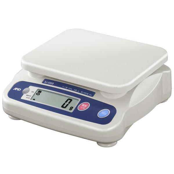 エー・アンド・デイ(A&D) 取引証明用(検定付) デジタルはかり 地区5 1kg SJ-1000N-A5 1台 (直送品)