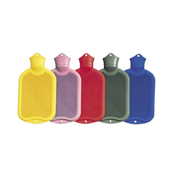 メディポート・ホック カラー湯たんぽ(レッド) 2000CC 21514000 1個 01-5305-01(直送品)