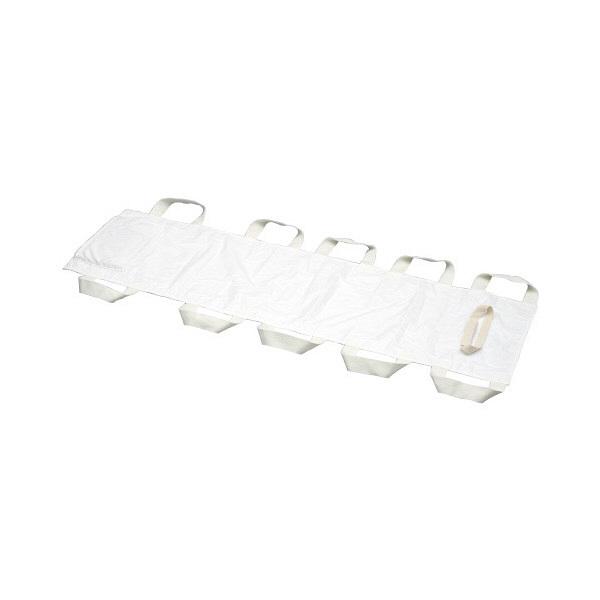 マツハシ 患者移動用シート救護くん 本体 W480×L1700mm ホワイト 86562700 1枚 (直送品)