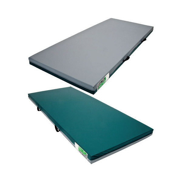 ケープ ホスピタマットレス 本体 83×191×8.5cm グリーン CR-286 1枚 (直送品)