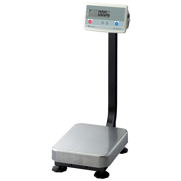 エー・アンド・デイ(A&D) 取引証明用(検定付) デジタル台はかり 地区4 150kg FG-150KAM-K 1台 (直送品)