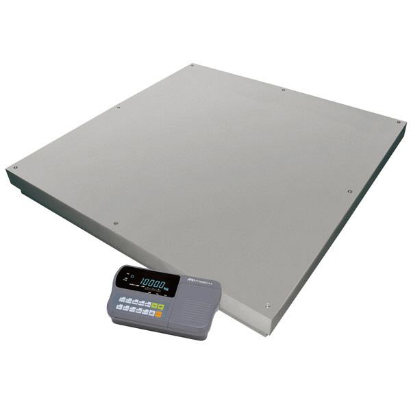 エー・アンド・デイ(A&D) 取引証明用(検定付) 大型デジタル台はかり 地区3 1500kg FT-1500Ki14-K 1台 (直送品)