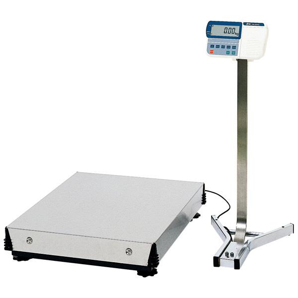 エー・アンド・デイ(A&D) 取引証明用(検定付) 大型デジタル台はかり 地区4 秤量(300kg/600kg) HV-600KGV3-K 1台 (直送品)