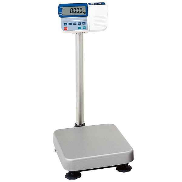 エー・アンド・デイ(A&D) 取引証明用(検定付) 防塵・防水 デジタル台はかり 地区4 秤量(15kg/30kg/60kg) HV-60KGL-K (直送品)