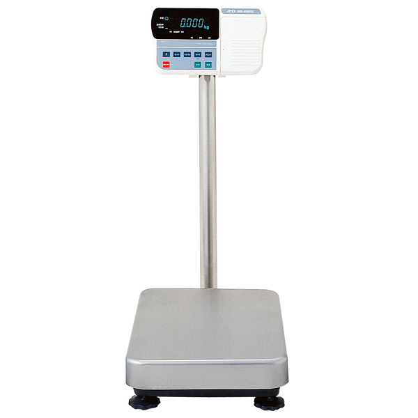 エー・アンド・デイ(A&D) 取引証明用(検定付) 防塵・防水 デジタル台はかり 地区2 秤量(15kg/30kg/60kg) HV-60KGV-K (直送品)