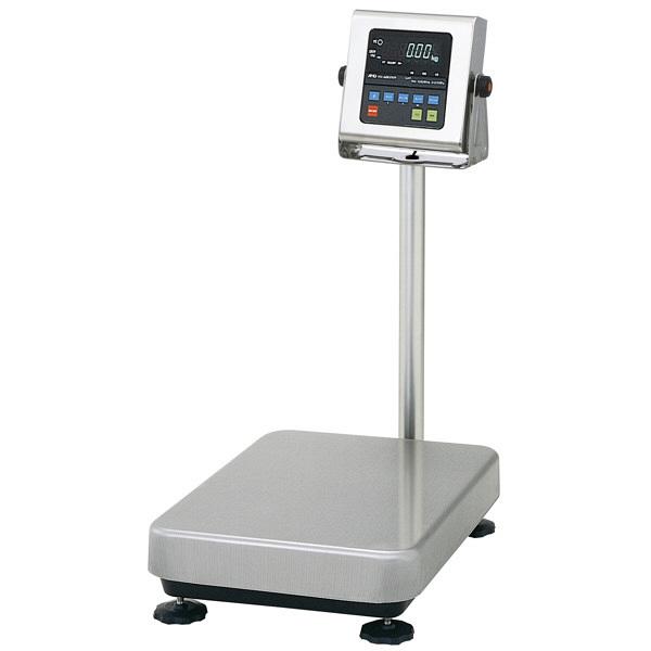 エー・アンド・デイ 取引証明用(検定付) 防塵・防水 デジタル台はかり 地区4 秤量(15kg/30kg/60kg) HV-60KVWP-K 1台 (直送品)