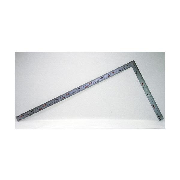 シンワ測定 曲尺厚手広巾シルバー 表裏同目 6段目盛 マグネットJIS 呼寸 52cm 10445 1セット(5本) (直送品)