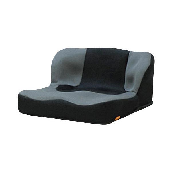 タカノ 座位保持クッションLAPS(ラップス) 400×450/420×235/40mm グレイ TC-L01 1個 (直送品)