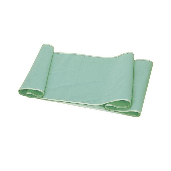 松本ナース産業 らくらくロールン(標準)小袋付 本体 58×140cm グリーン 900 1個 (直送品)
