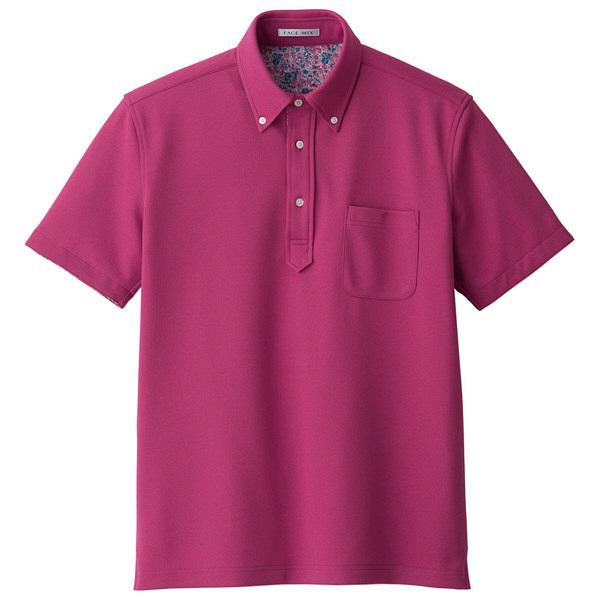 【メーカーカタログ】ボンマックス メンズ吸水速乾ポロシャツ(花柄B) ピンク S FB5025M 1枚 (直送品)