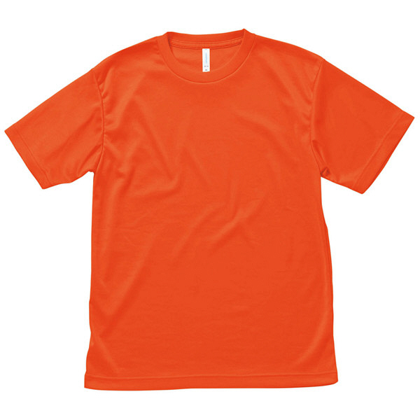 【メーカーカタログ】ボンマックス ライトドライTシャツ オレンジ L MS1146 1枚 (直送品)