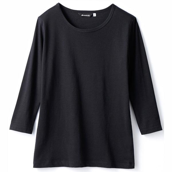 【メーカーカタログ】 住商モンブラン Tシャツ(男女兼用) 黒 M CE423-1-M 1枚 (直送品)