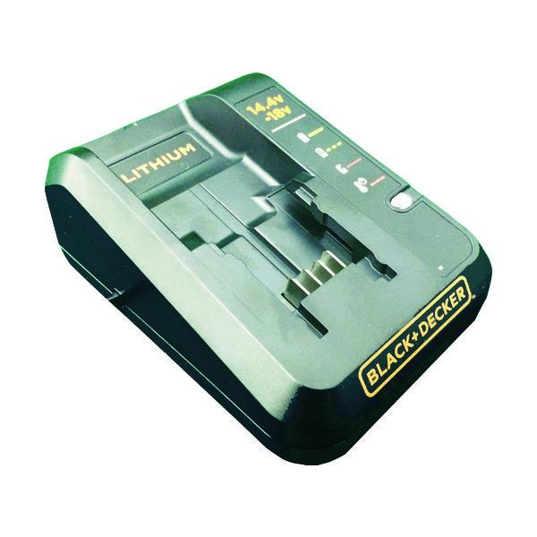 ブラック・アンド・デッカー(BLACK+DECKER) B/D 18V充電器 LC1418N-JP 1台 770-4542(直送品)