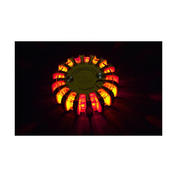 パワーフレア(PowerFlare) PF セーフティライト 赤・黄 PF210RAY 1個 762-9915(直送品)