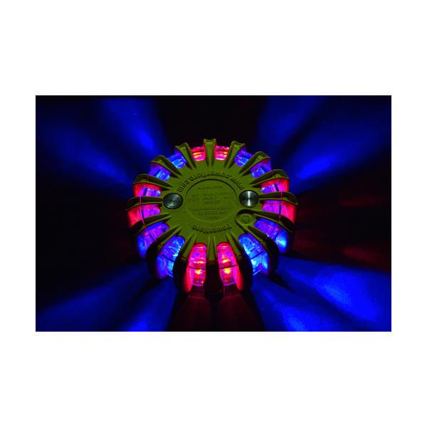 パワーフレア(PowerFlare) PF セーフティライト 赤・青 PF210RBY 1個 760-7091(直送品)