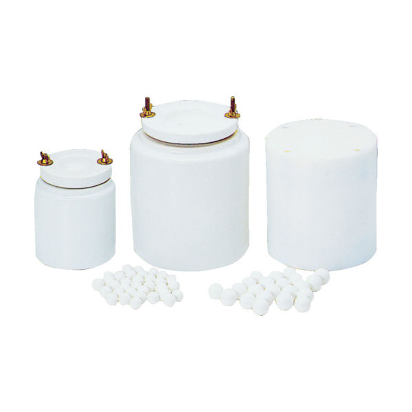 日陶科学 アルミナポットミル用ボール K-25SW(1Kg/約30個) K-25SW 1袋(30個) 496-5744(直送品)