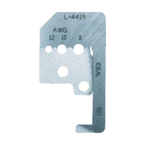 東京アイデアル IDEAL ストリップマスター替刃 45-092用 L-4421 1セット 759-8807(直送品)