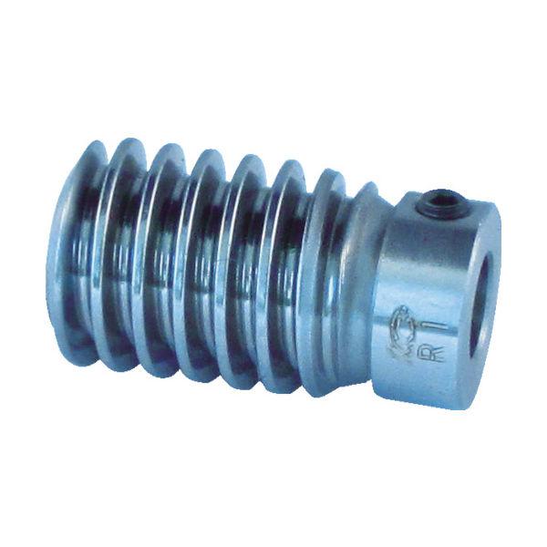 協育歯車工業 KG ウォームギヤ モジュール1.0 S45C W1SR1-E-A 1個 756-5267(直送品)