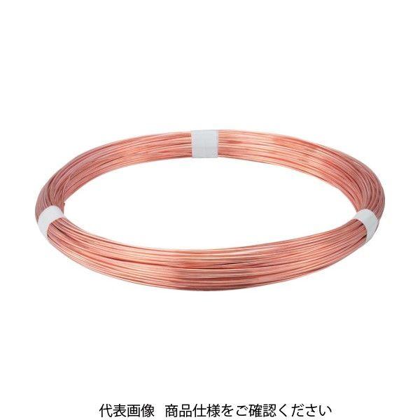 トラスコ中山(TRUSCO) TRUSCO 銅針金 0.9mmX5m TDWS-09 1巻(5m) 759-2655(直送品)