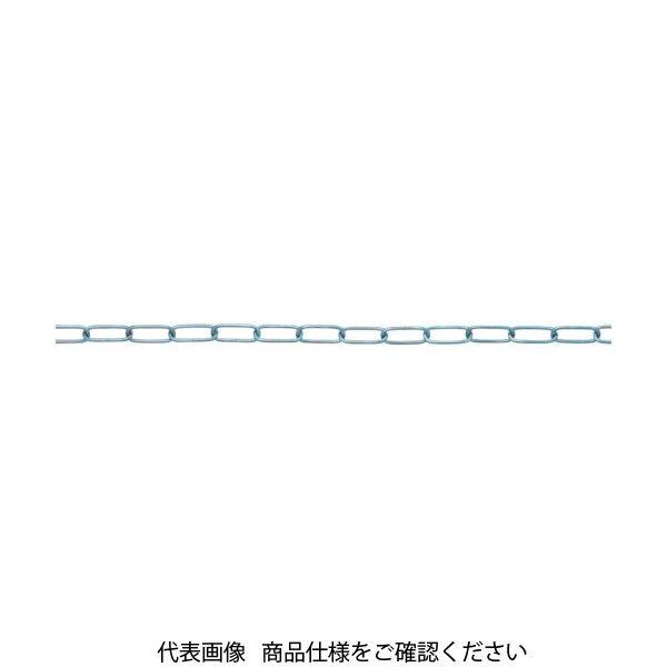 ニッサチェイン(NISSA CHAIN) ニッサチェイン 鉄ユニクロリンクCタイプ 1.4mmX30M IL14 UC 756-1253(直送品)