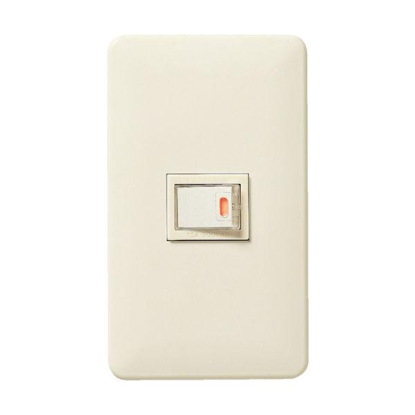 LOHACO - パナソニック(Panasonic) Panasonic フルカラー埋込ほたるスイッチB WNP5151MWP 1個  763-2339(直送品)