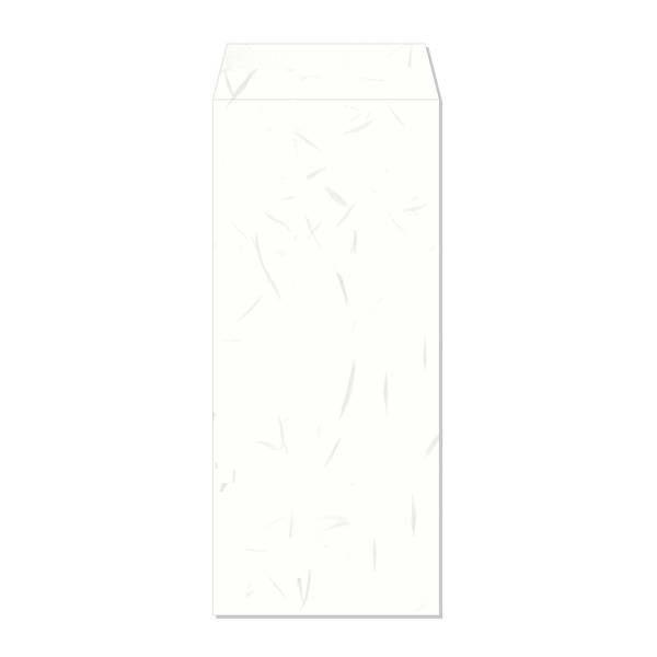 長門屋商店 和み紙封筒 長4 しろ お徳用 ナフ-251 1セット(50枚入×4) (直送品)