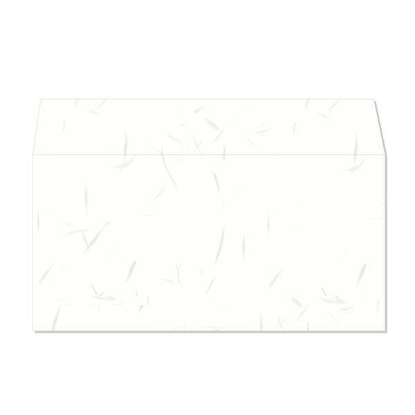 長門屋商店 和み紙封筒 DL しろ お徳用 ナフ-351 1セット(50枚入×4) (直送品)