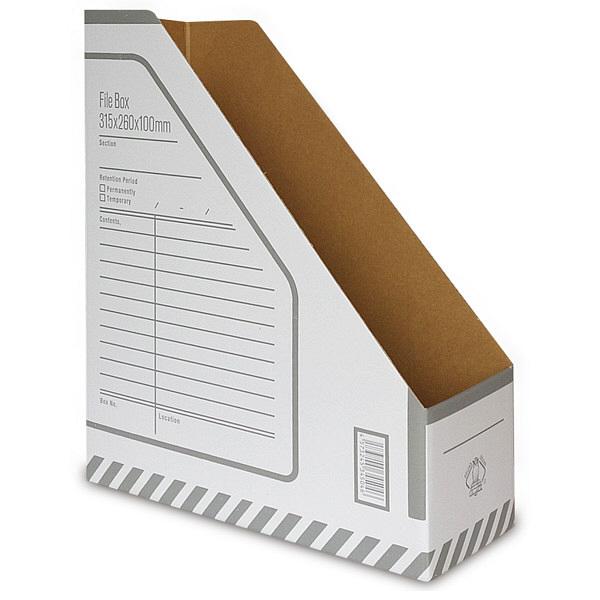 Oficina 収納ボックス ファイルBOXA4 タテ型 16枚セット (直送品)