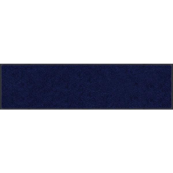 スタンダードマットS ネイビー・ブルー 90×1000cm (直送品)