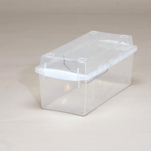 アイリスオーヤマ CDボックス クリア・ホワイト CDB-35 1セット(10個) (直送品)
