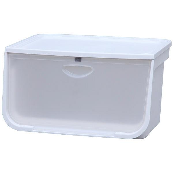 アイリスオーヤマ フラップボックス クリア FLP-L 5台 (直送品)