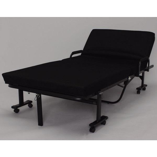 アイリスオーヤマ 折りたたみベッド 幅990×奥行1990×高さ405mm OTB-KRH 1台 (直送品)