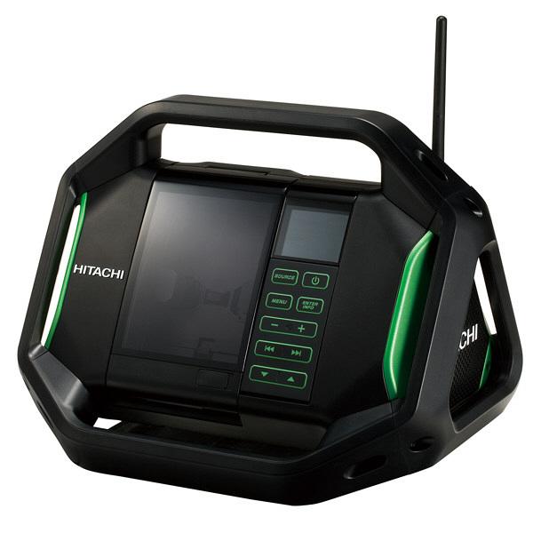 日立工機 コードレスラジオ 本体のみ UR18DSAL(NN) (直送品)