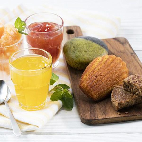 国産野菜とフルーツのジュレ&ベジスイーツ
