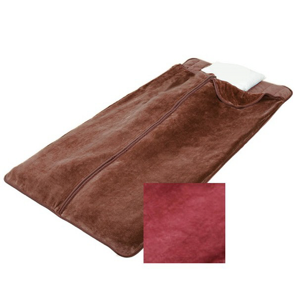 遠赤綿入り寝袋タイプ敷パッド2色