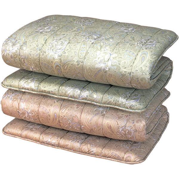 防ダニ防臭抗菌加工ウール3層式敷布団2色