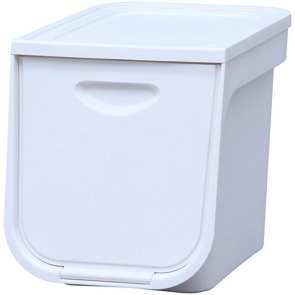 アイリスオーヤマ フラップボックス ホワイト FLP-S 10台 (直送品)