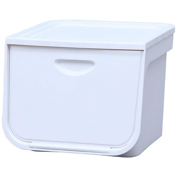 アイリスオーヤマ フラップボックス ホワイト FLP-M 1セット(5台) (直送品)