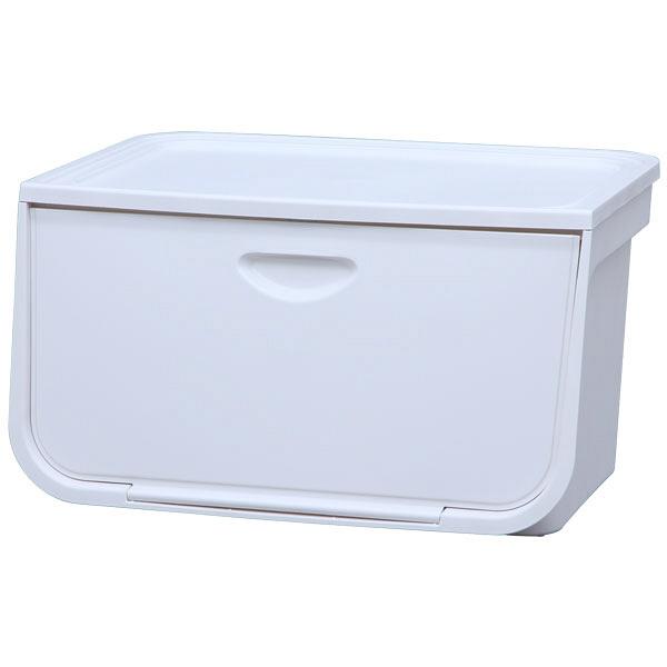 アイリスオーヤマ フラップボックス ホワイト FLP-L 5台 (直送品)