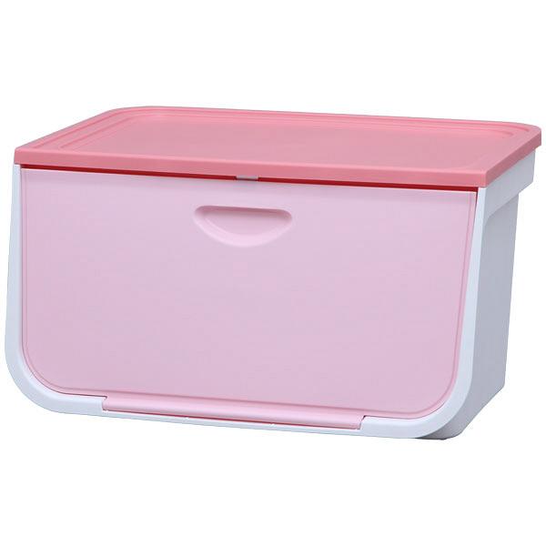アイリスオーヤマ フラップボックス ピンク FLP-L 1セット(5台) (直送品)