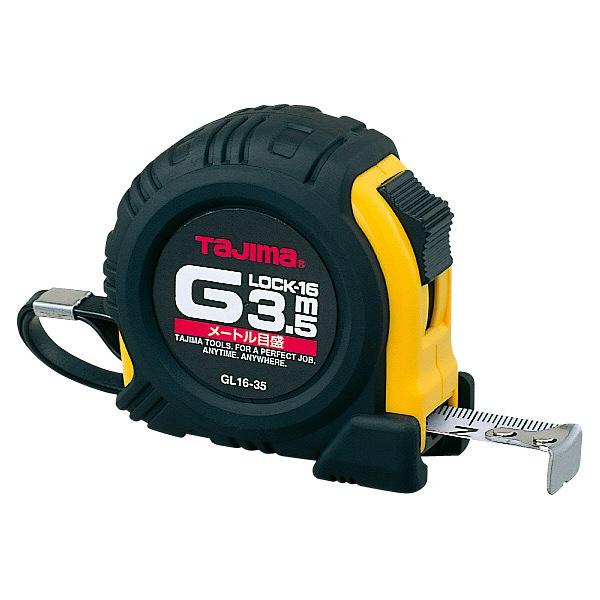 タジマ コンベックス Gロック-16 3.5m 16mm幅 メートル目盛 GL16-35BL メジャー