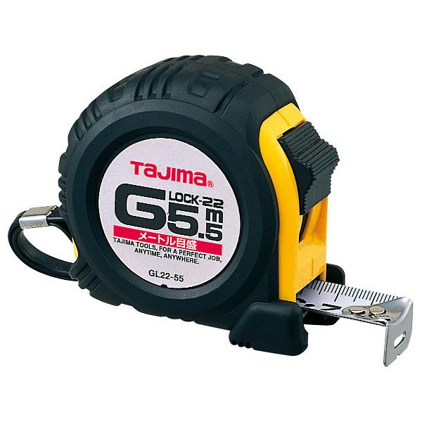 タジマ コンベックス Gロック-22 5.5m 22mm幅 メートル目盛 GL22-55BL メジャー