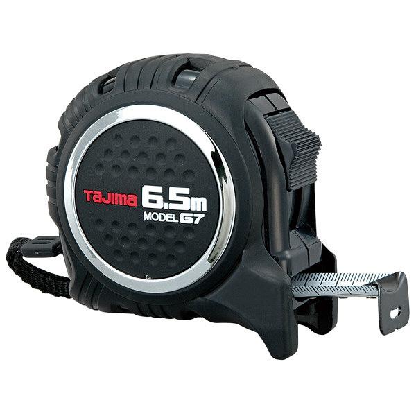 タジマ コンベックス G7ロック25 6.5m 25mm幅 尺相当目盛付 G7L2565S メジャー