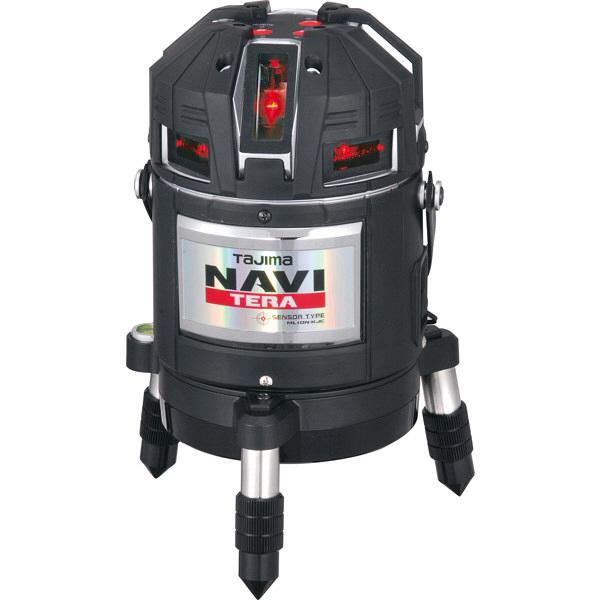 タジマ レーザー墨出し器 NAVITERAセンサー矩十字・横全周/10m/IP ML10N-KJC (直送品)