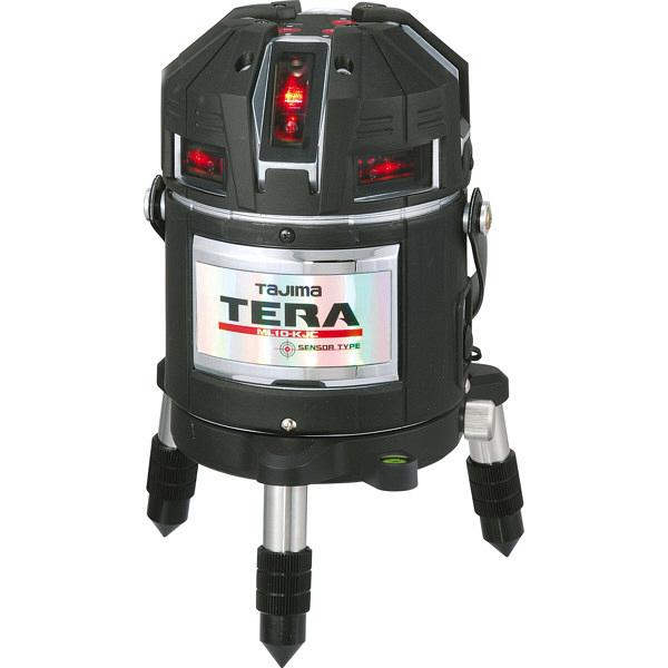 タジマ レーザー墨出し器 TERAレーザー矩十字・横全周/10m/IP ML10-KJC