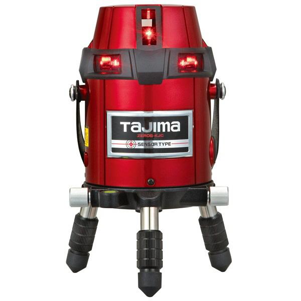 タジマ レーザー墨出し器 ゼロセンサーKJC 矩十字・横全周 ZEROS-KJC (直送品)