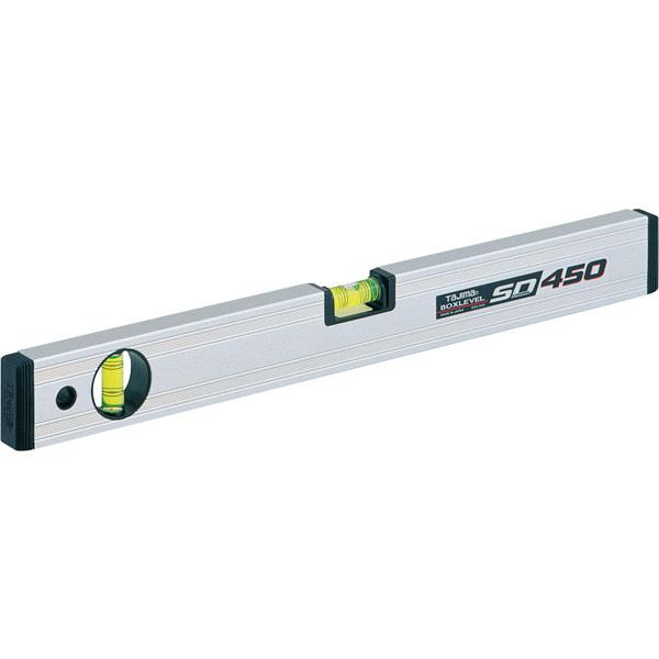タジマ 水平器 ボックスレベルスタンダード 450mm BX2-S45 (直送品)